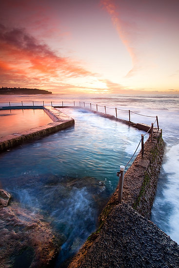 Rock pool at Curl Curl, Sydney, New South Wales, Australia