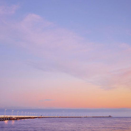 Sunset, Busselton Jetty, South Western Australia
