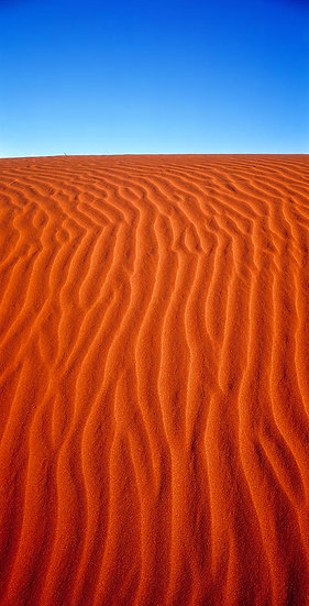 Sand dunes at Windorah, Barcoo, Outback Queensland