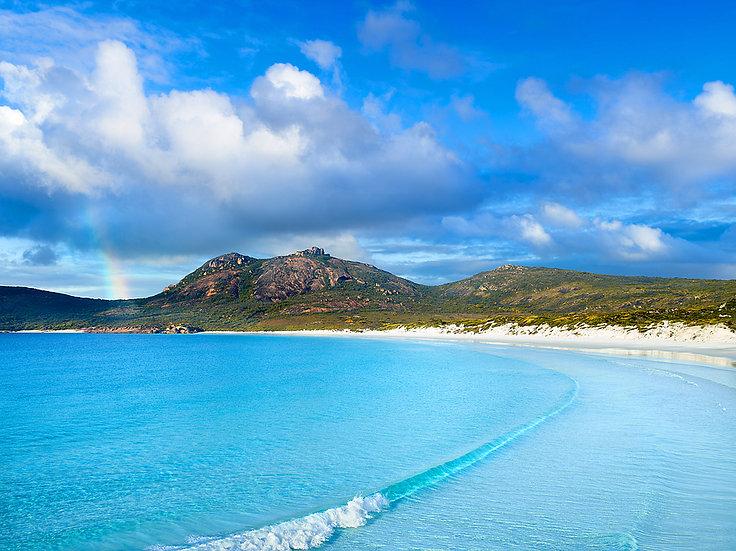 Rainbow, Thistle Cove Beach, Esperance, Western Australia