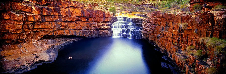 Waterfall, Bells Gorge, Karijini National Parks, Pilbara, NW Australia