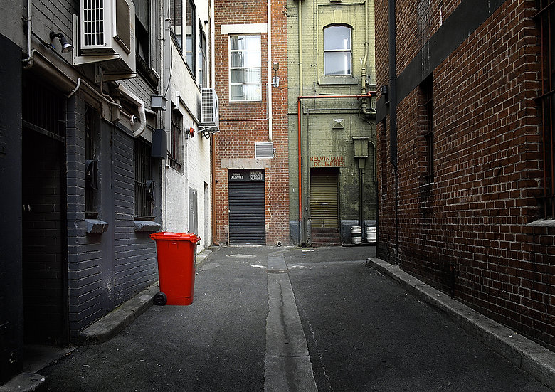Alley Way, Melbourne City, Australia