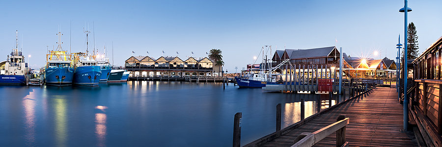 Fremantle Fishing Boat Harbour, Perth, Western Australia