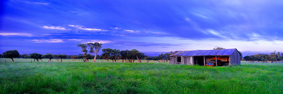 Old shed, Farm, Quindalup, South Western Australia