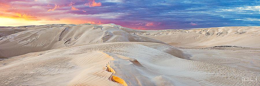 Sand Dunes at Cervantes, Western Australia