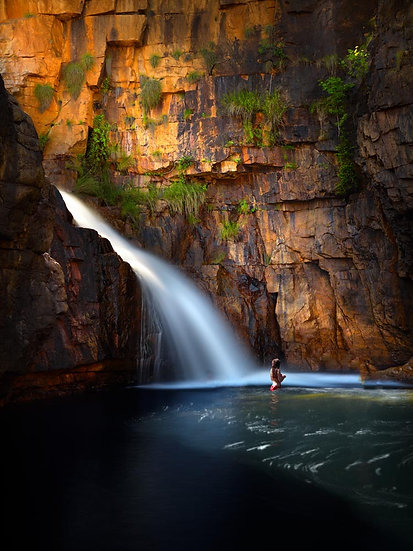 Waterfall, Ruby Falls, North Western Australia