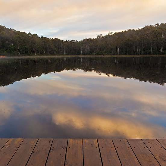 Lake Reflections at Pemberton, Western Australia