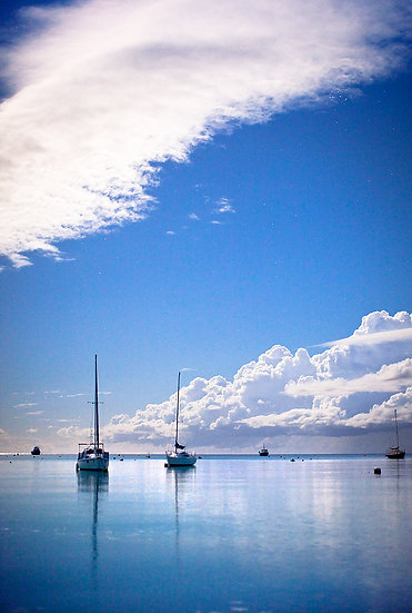 Yachts on Geographe Bay, Dunsborough, Western Australia