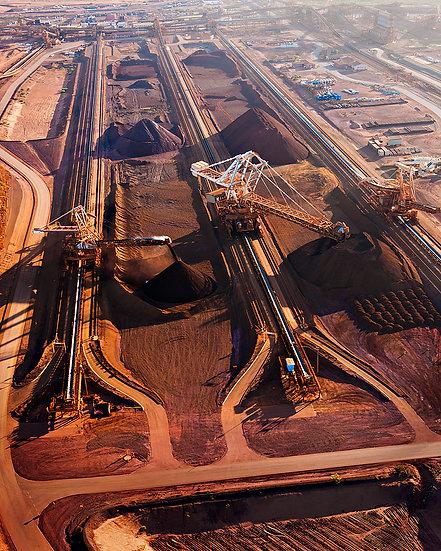 Iron Ore Mining, Port Hedland, Pilbara, North Western Australia