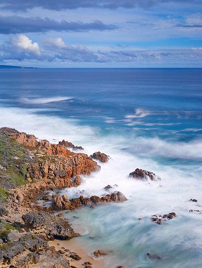 Limestone and Granite Coastline of Cape Naturaliste, South Western Australia