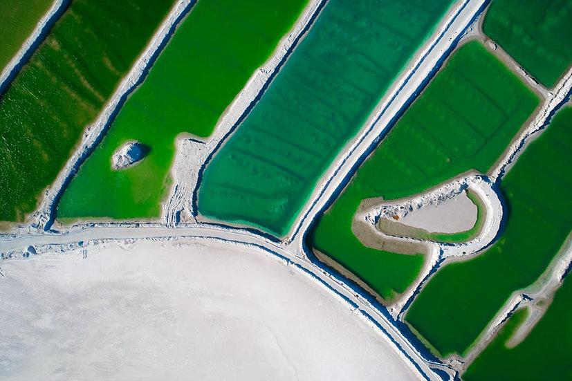 Salt Lake Aerial