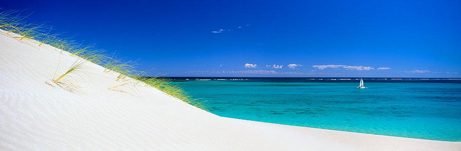 Yacht, Coral Bay, North Western Australia
