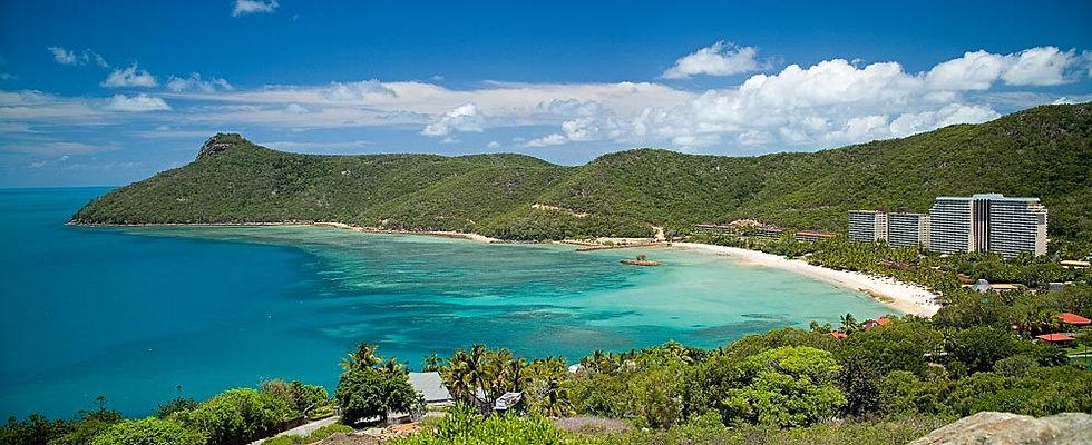 View of Hamilton Island, Whitsundays, Queensland, Australia