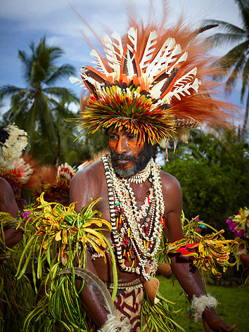 A Traditional Ceremonial Performance, Papua New Guinea
