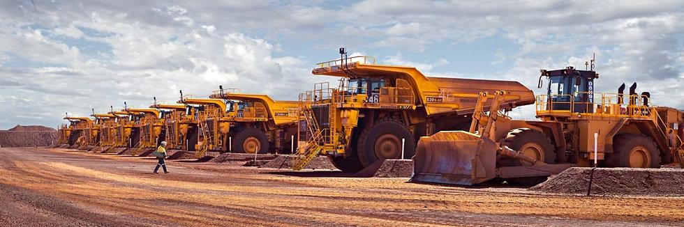 Mining Machinery and Trucks, North Western Australia
