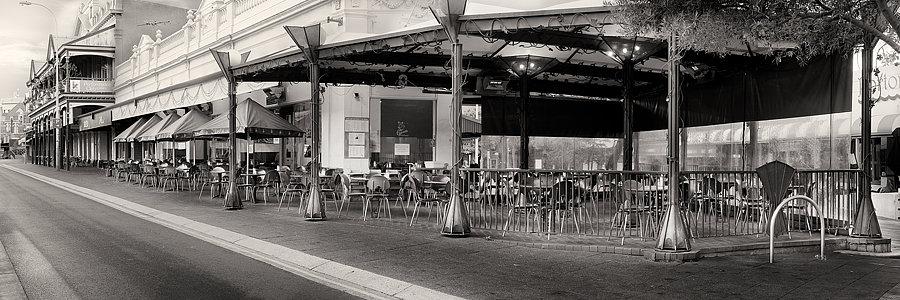 Fremantle Cappuccino Strip, Perth, Western Australia