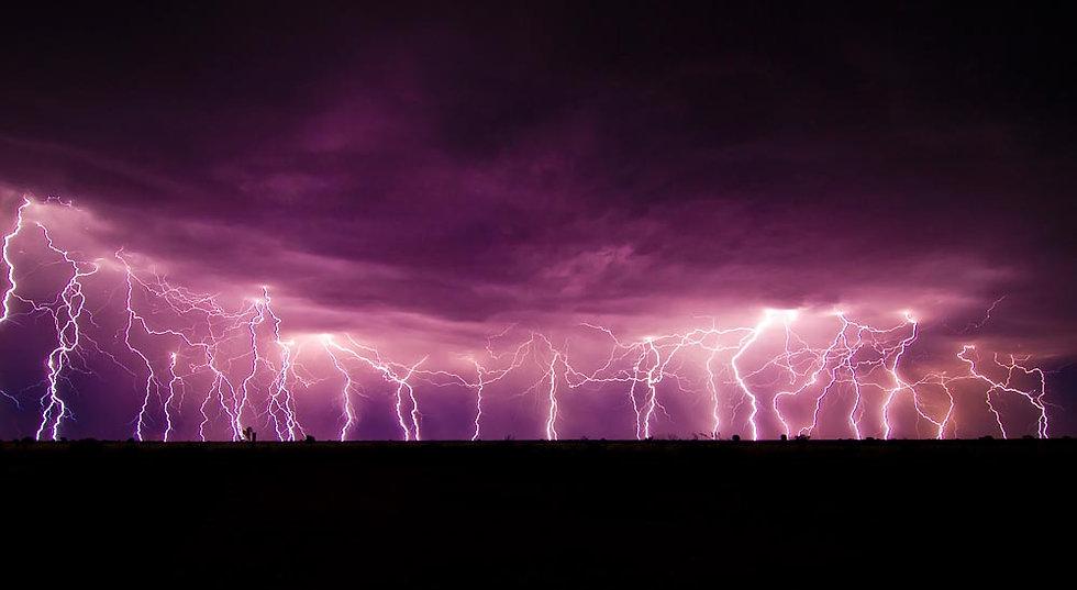 Storm over Gibson Desert, Western Australia