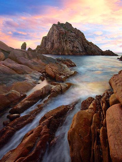 Sugarloaf Rock, Cape Naturaliste, South Western Australia,