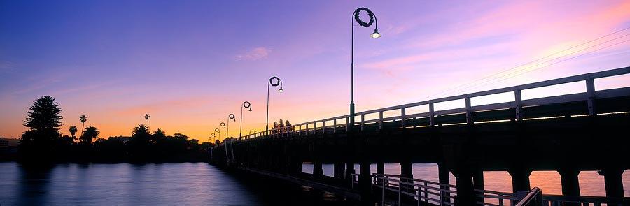 Old Mandurah Bridge, Western Australia