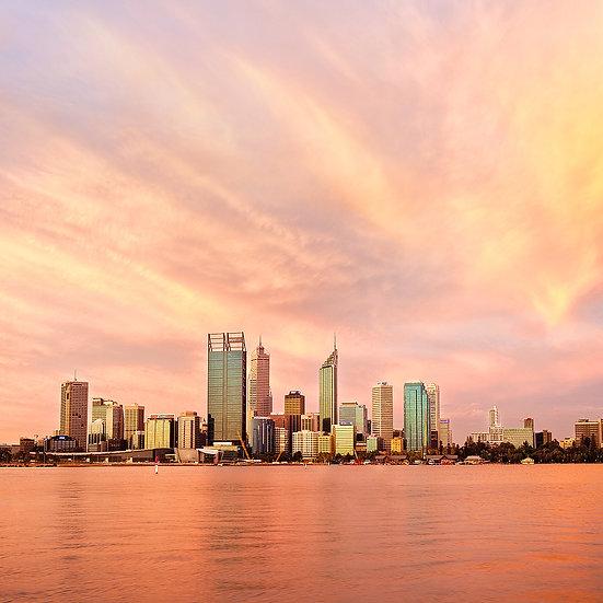 Perth City Skyline, West Australia