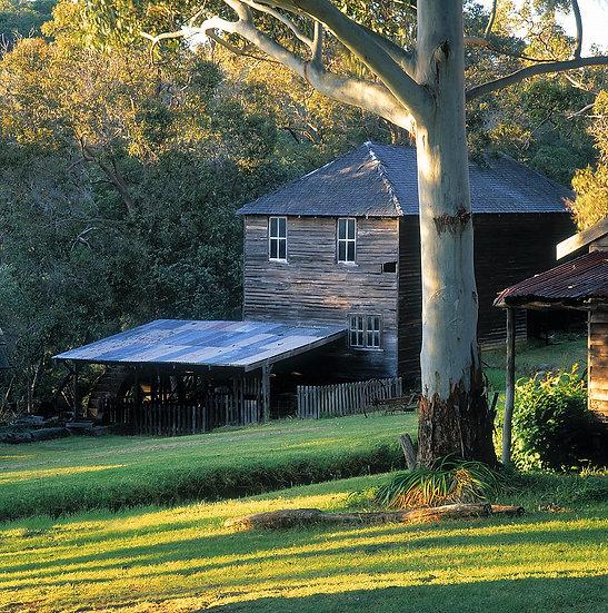 Millbrook Farm, old buildings, Yallingup, South Western Austral
