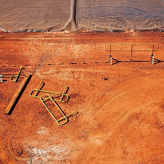 The Red Dirt of Port Hedland, Pilbara, North West Australia