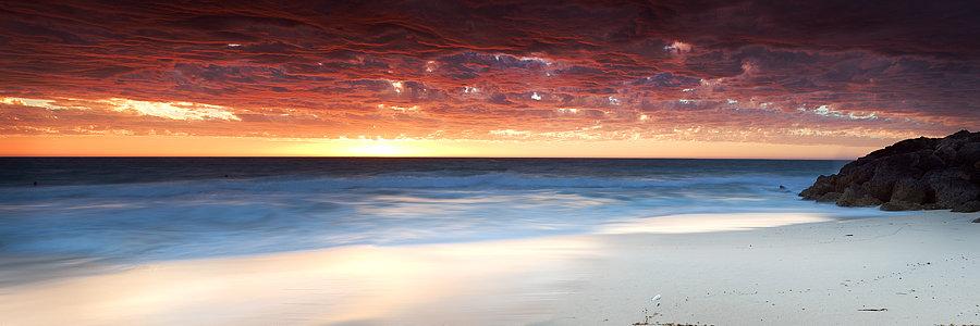 Beach Sunset Western Australia
