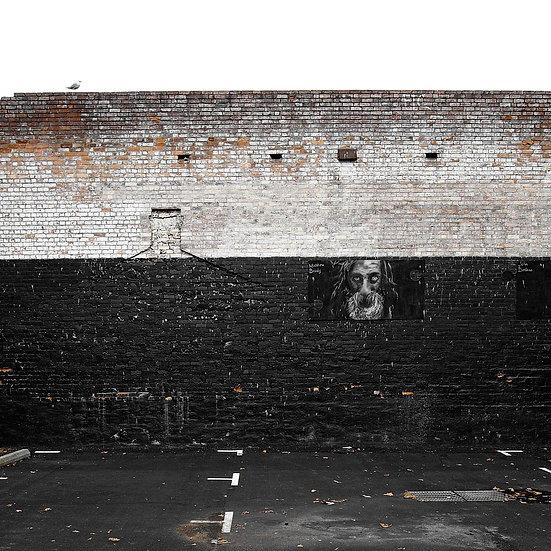 Graffiti Wall in Melbourne City, Australia