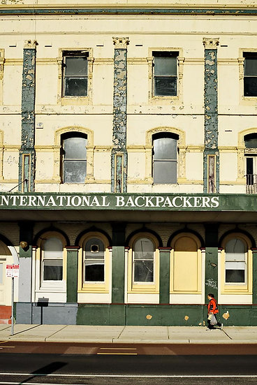 International Backpackers, Perth buildings, Western Australia