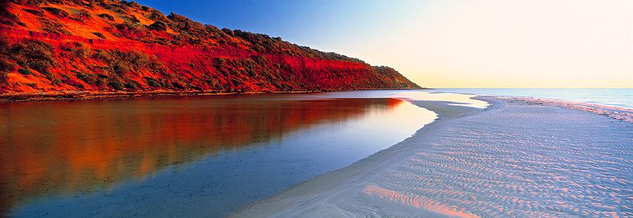 Eastern Bluff, Monkey Mia beach, North Western Australia