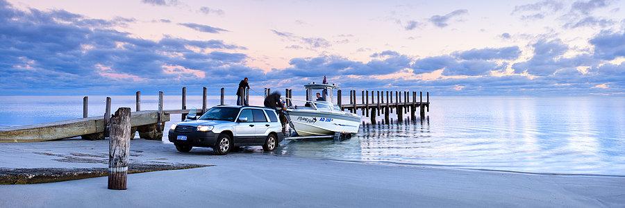 Boat Ramp, Dunsborough, South Western Australia