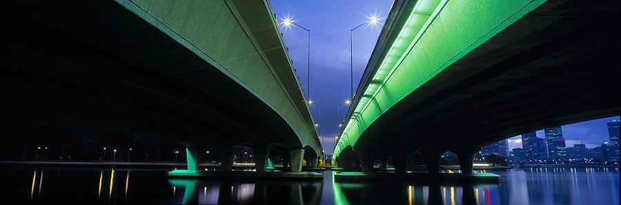 Narrows Bridge + City Lights, Perth, Western Australia