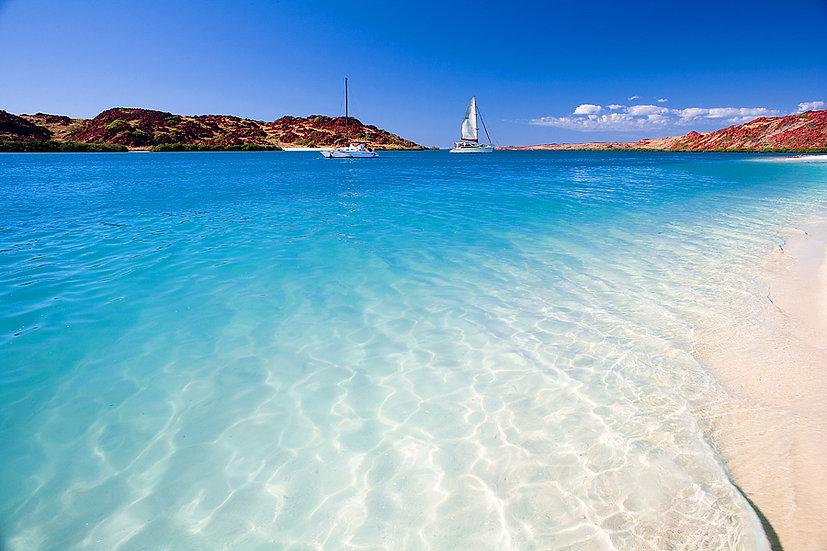 Sailing and Beach, Dampier Peninsula, Kimberley, North Western Australia