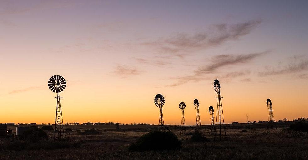 Windmills, South Australian