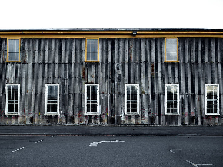 Corrugated Iron Building, Tasmania, Australia