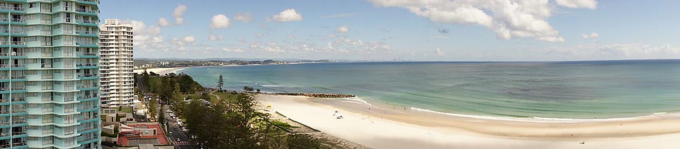 Coolangatta beach, Gold Coast, Queensland, Australia