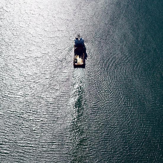Aerial, Boat, Dampier, North Western Australia