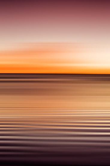 Sand patterns, water ripples,  Esperance, South Coast, Western Australia