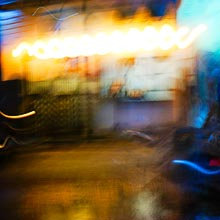 A Blur of Lights of Siem Reap, Cambodia