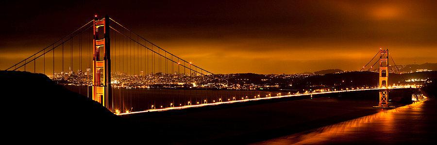 The Golden Gate Bridge California USA