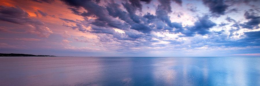 Indian Ocean Summer Sunset
