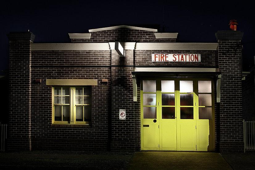 Fire Station, Bellingen, NSW, Australia
