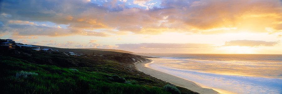 Sunset at Yallingup Beach, South Western Australia