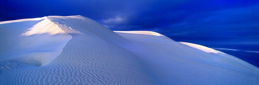 Sand dune at Gnaraloo, North Western Australia