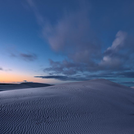 Sunset, Sand Dunes, South Western Australia