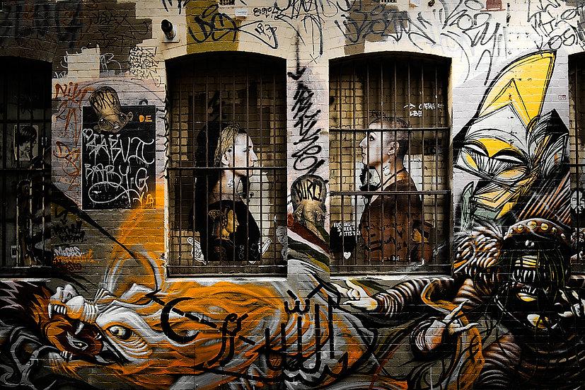 Melbourne City Graffiti, Australia