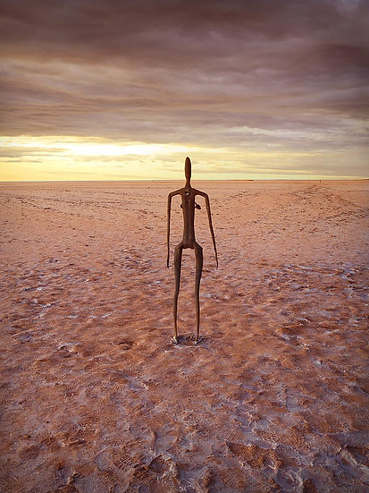 Sculptures, Lake Ballard, Goldfields, Western Australia