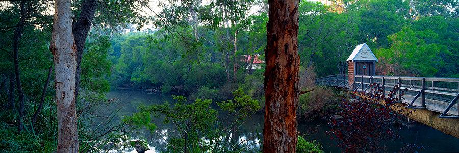 Bridge over the Margaret River, South Western Australia