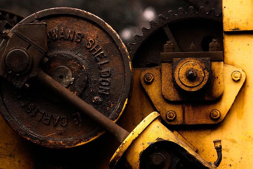 Train closeup