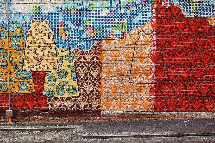 Graffiti on a Wall in Perth City, Western Australia